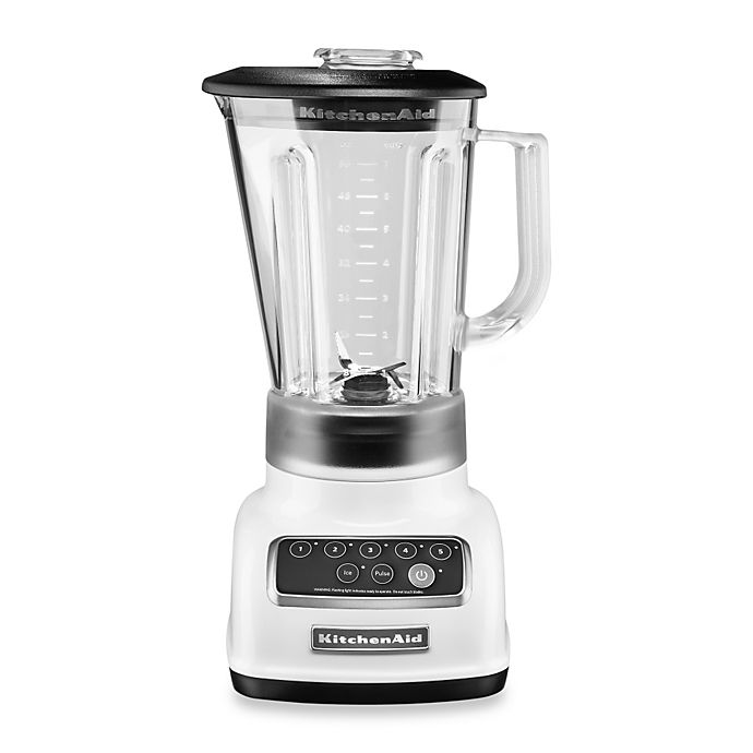 Alternate image 1 for KitchenAid® 5-Speed Classic Blender with Intelli-Speed™ Motor Control in White