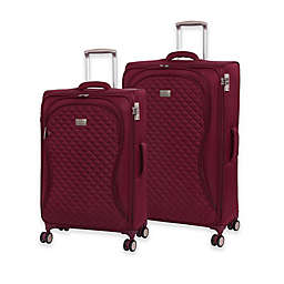 it Girl Timeless Lightweight Spinner Checked Luggage