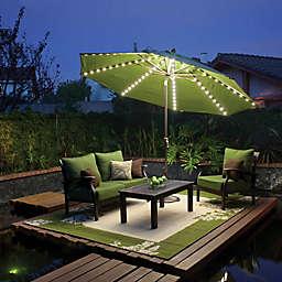 SimplyShade™ Lanai Pro 11-Foot Octagon Auto-Tilt Market Umbrella in Sunbrella®