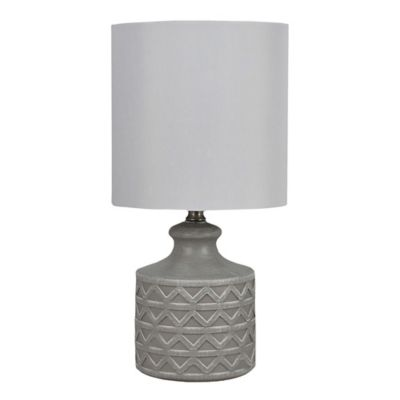 Bee Amp Willow Home Abella Table Lamp In Grey With White