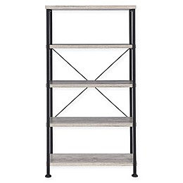 Clement Bookcase in Grey Driftwood