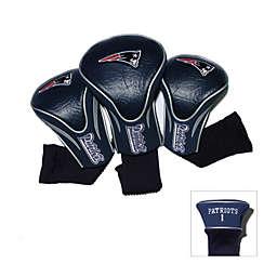 NFL New England Patriots 3-Pack Contour Golf Club Headcovers