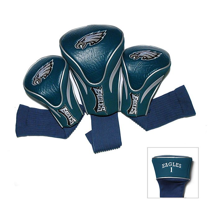 more photos 5fe3b a1aba NFL Philadelphia Eagles 3-Pack Contour Golf Club Headcovers ...