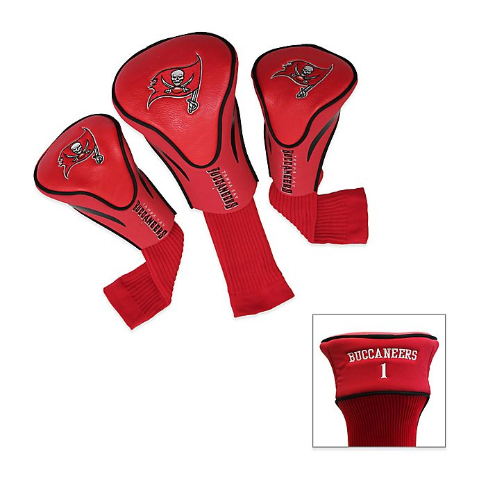 31621b1f NFL Tampa Bay Buccaneers 3-Pack Contour Golf Club Headcovers | Bed ...