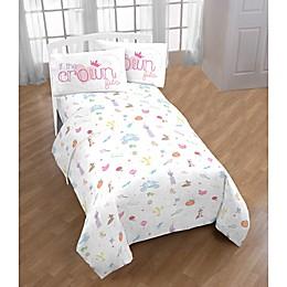 Princess Microfiber Bed Sheet Set