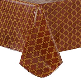 Grace Geometric Vinyl Tablecloth