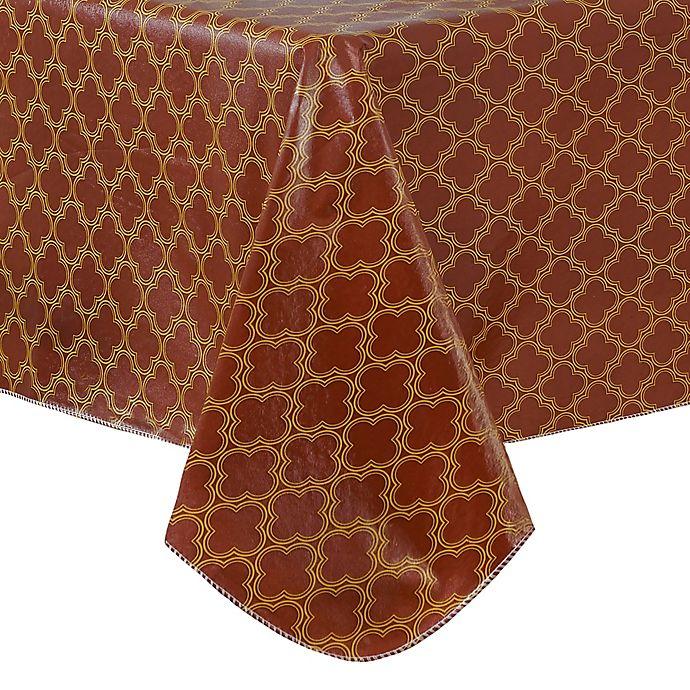 Alternate image 1 for Grace Geometric Vinyl Tablecloth