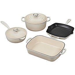 Le Creuset® Signature 6-Piece Cookware Set in Meringue