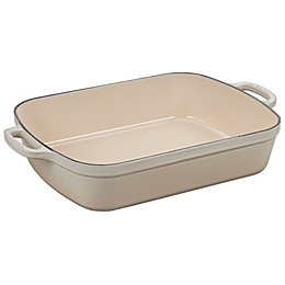 Le Creuset® Signature 5.25 qt. Rectangular Roaster in Meringue