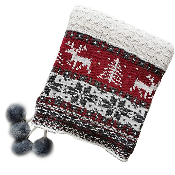 Alternate image 1 for Bee & Willow™ Home Fair Isle Throw Blanket