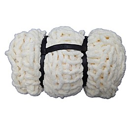 Bee & Willow™ Home Chunky Chenille Harness Throw Blanket in Cream