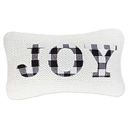 Bee & Willow™ Home Joy Buffalo Oblong Throw Pillow in Ivory