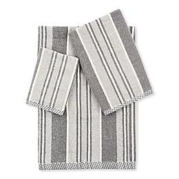 Bazzy Stripe Bath Towel Collection
