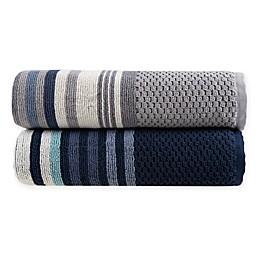 Fashion Value Caper Stripe Bath Towel Collection