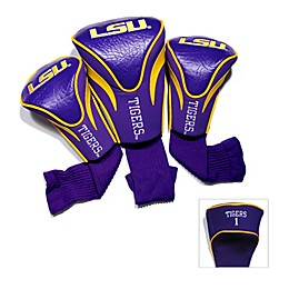 Louisiana State University 3-Pack Contour Golf Club Headcovers