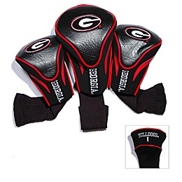 University of Georgia 3-Pack Contour Golf Club Headcovers