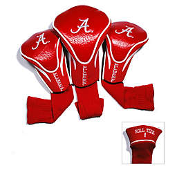 University of Alabama 3-Pack Contour Golf Club Headcovers
