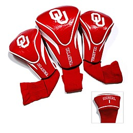 University of Oklahoma 3-Pack Contour Golf Club Headcovers