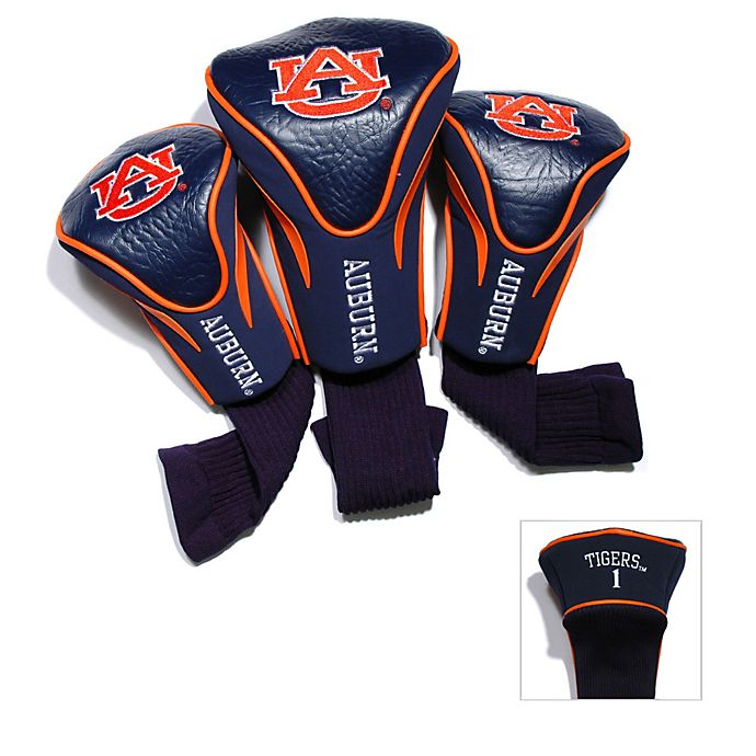 Auburn University 3 Pack Contour Golf Club Headcovers