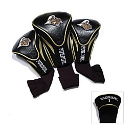Purdue University 3-Pack Contour Golf Club Headcovers