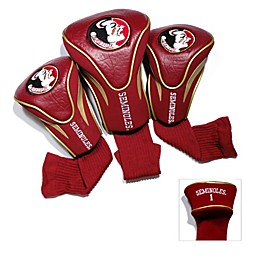 Florida State University 3-Pack Contour Golf Club Headcovers