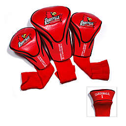 University of Louisville 3-Pack Contour Golf Club Headcovers
