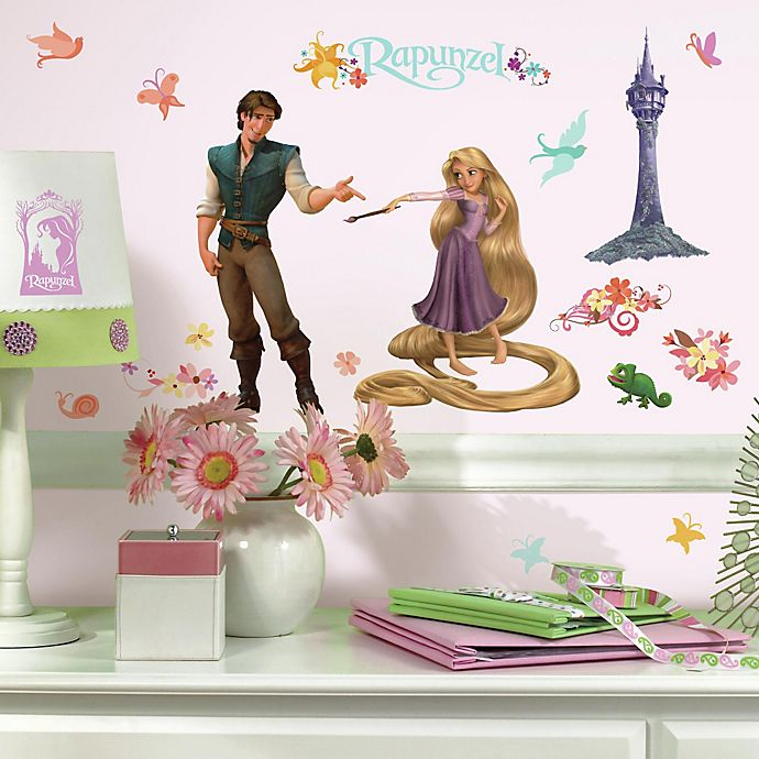 Alternate image 1 for RoomMates Disney® Tangled Peel & Stick Wall Decals