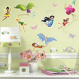 RoomMates Disney® Fairies Peel & Stick Wall Decals with Glitter