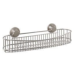 .ORG Stainless Steel Long Shower Caddy