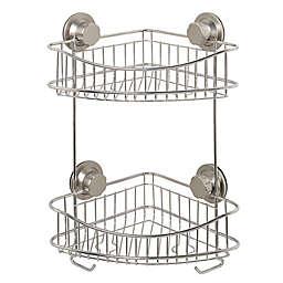 .ORG Stainless Steel 2-Tier Shower Caddy
