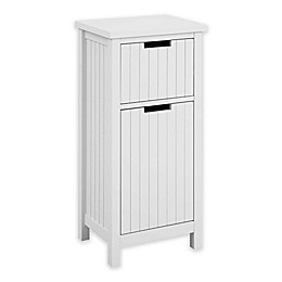 Bee & Willow™ Home Pre-Assembled Beadboard Cabinet in Light Grey