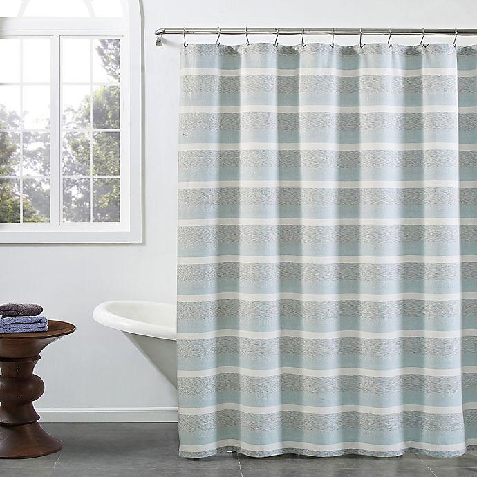Alternate image 1 for KAS ROOM Zerena Striped Shower Curtain
