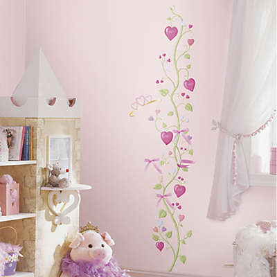 York Wall Coverings Fairy Princess Peel and Stick Growth Chart