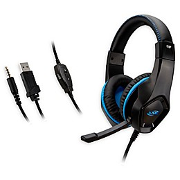 iLive™ Gaming Over-the-Ear Headphones in Black