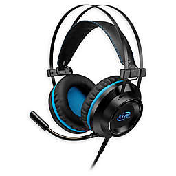 iLive™ Gaming Over-the-Ear Headphones in Black with Built-In Microphone