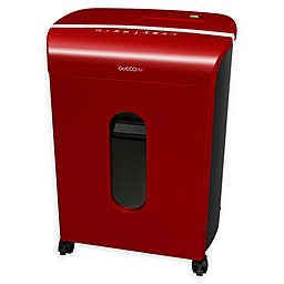 GoECOlife® GMW120P 12-Sheet Micro-Cut Shredder in Red