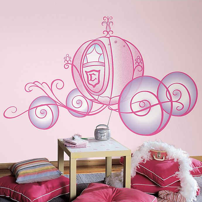 roommates peel and stick wall decals in giant disney® princess