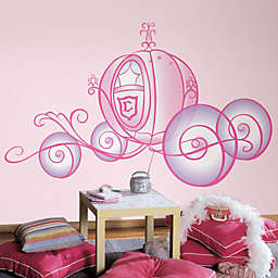 RoomMatesPeel and Stick Wall Decals in Giant Disney® Princess Carriage