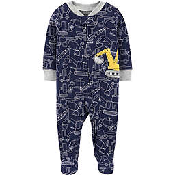 carter's® Construction Footie in Navy
