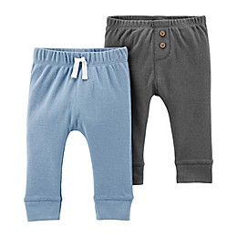 carter's® 2-Pack Sweatpants in Blue/Grey