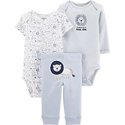 carter's® 3-Piece Lion Layette Set in Aqua