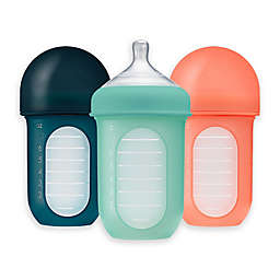 Boon Nursh 3-Pack Silicone Baby Bottles