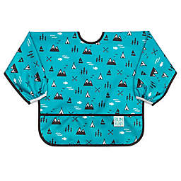 Bumkins® Great Outdoors Sleeved Bib in Blue