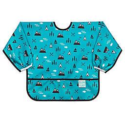 Bumkins® Great Outdoors Sleeved Bib in Blue