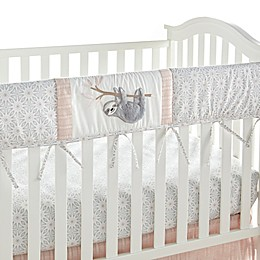 Levtex Baby® Imani Crib Rail Guard in Pink/Grey