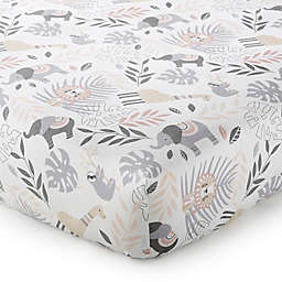 Levtex Baby® Imani Tossed Animal Fitted Crib Sheet