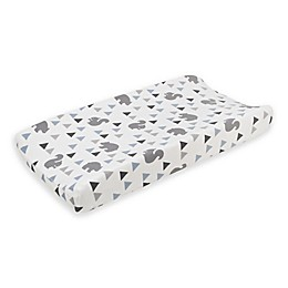 NoJo Mountain Patchwork Changing Pad Cover