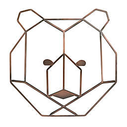 Nojo® 10.4-Inch x 10.6-Inch Wire Bear Wall Art