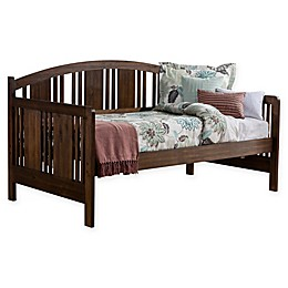 Hillsdale Furniture Dana Wooden Daybed in Brushed Acacia Finish