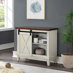 Bee & Willow™ Home Console Table in White/Walnut